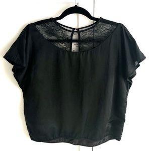 Designer Silk Blend Top